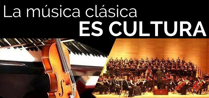 La música clásica es cultura